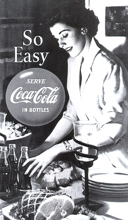So Easy -- Serve Coca-Cola in bottles